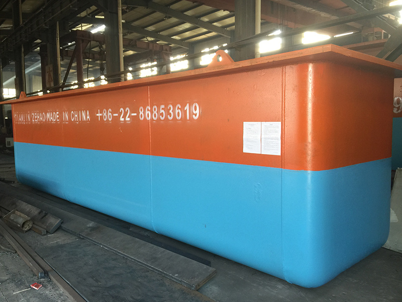 Galvanizing kettle exported to Vietnam