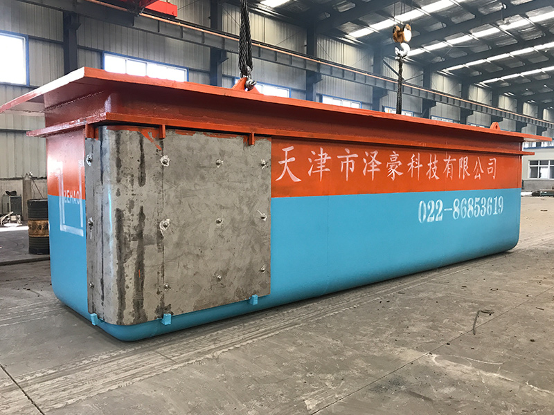 China's fourth largest galvanizing kettle