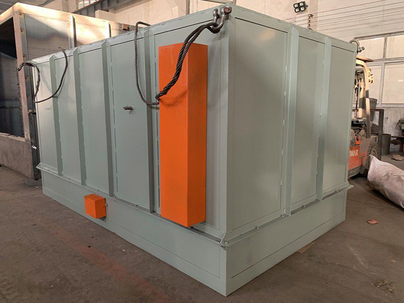 galvanizing furnace heated by electricity